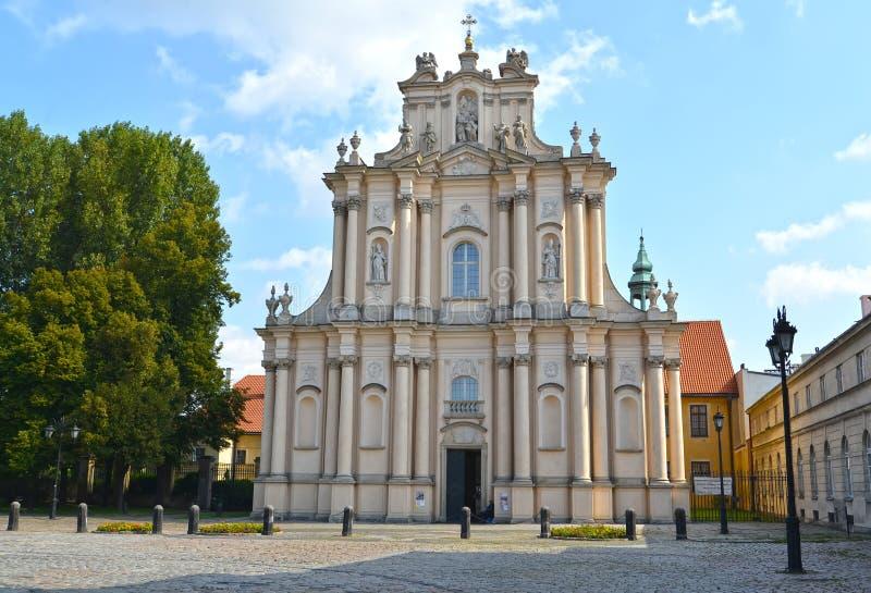 名片圣若瑟Obruchnik ` s教会教会  战争 免版税库存照片