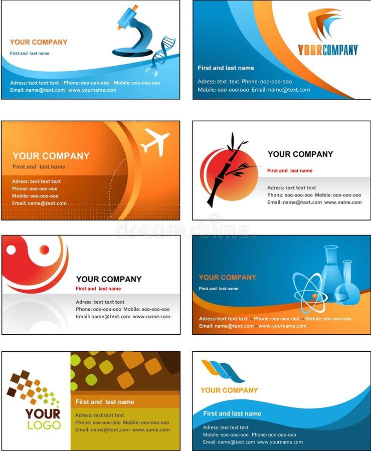名片模板设计-向量文件