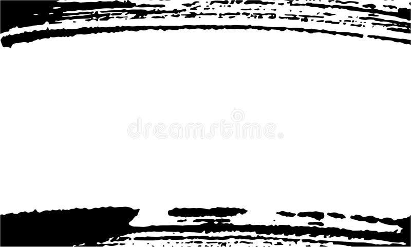 名片的,横幅,海报,飞行物,笔记本,与现代手拉的墨水难看的东西纹理的邀请模板 库存例证