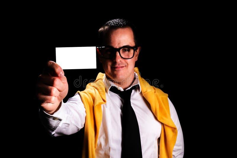 Download 名片 库存照片. 图片 包括有 背包, 产生, 生意人, 手指, 商业, 想法, 概念, 工作, 幽默, 投反对票 - 30327862