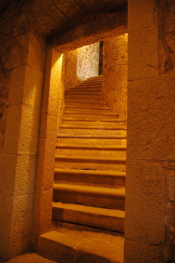 后楼梯 库存照片