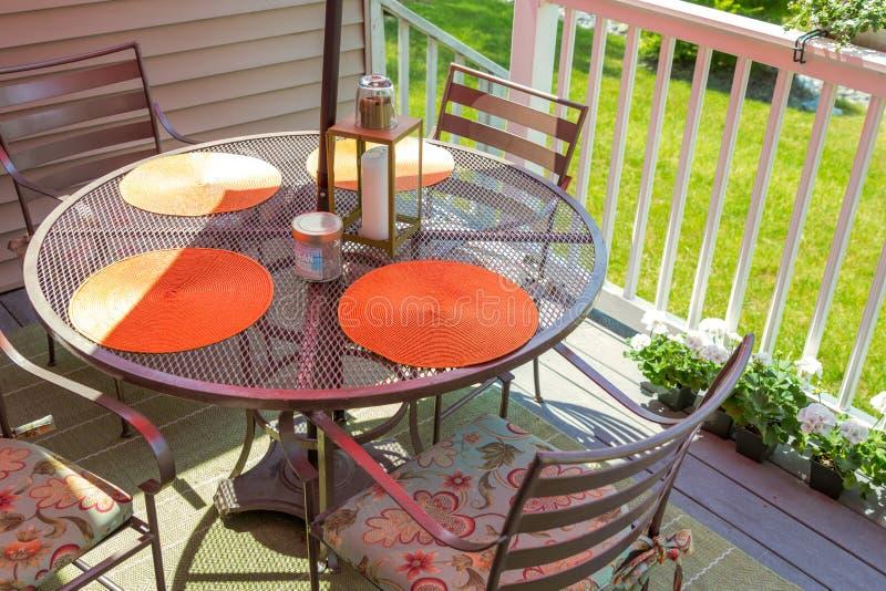 Download 后院甲板 库存照片. 图片 包括有 露台, 围场, 照亮, 空间, 夏天, 居住, 庭院, 椅子, 放松 - 72364828