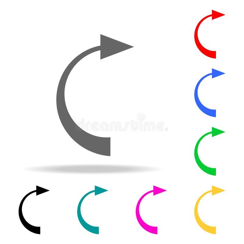 后面箭头象 人的网色的象的元素 优质质量图形设计象 网站的简单的象,网络设计, 库存例证
