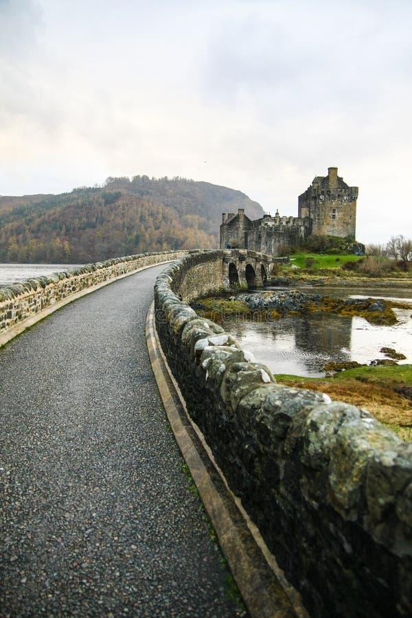 向城堡的一条道路 图库摄影
