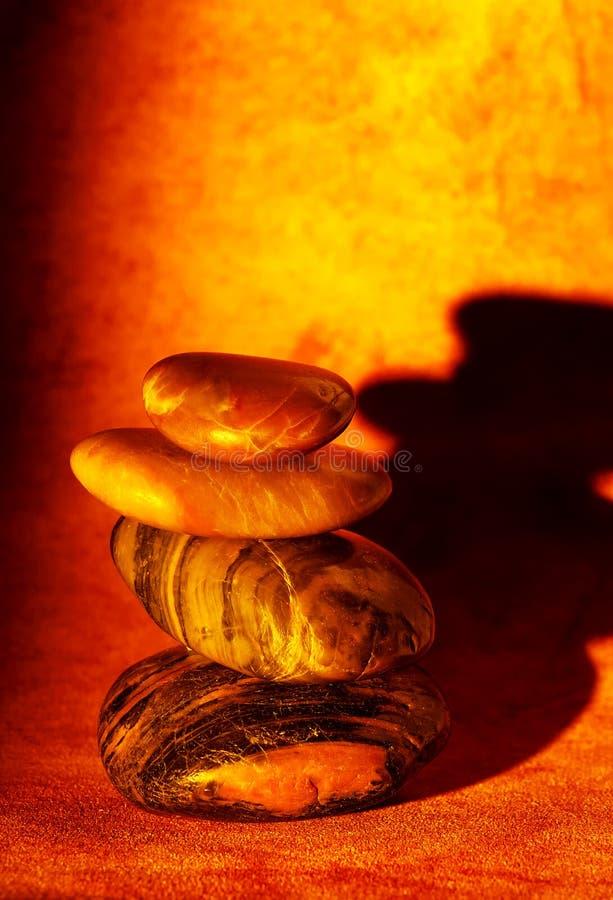 向禅宗扔石头 向量例证