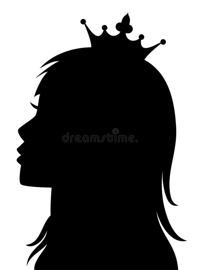 向量公主或女王/王后 向量例证