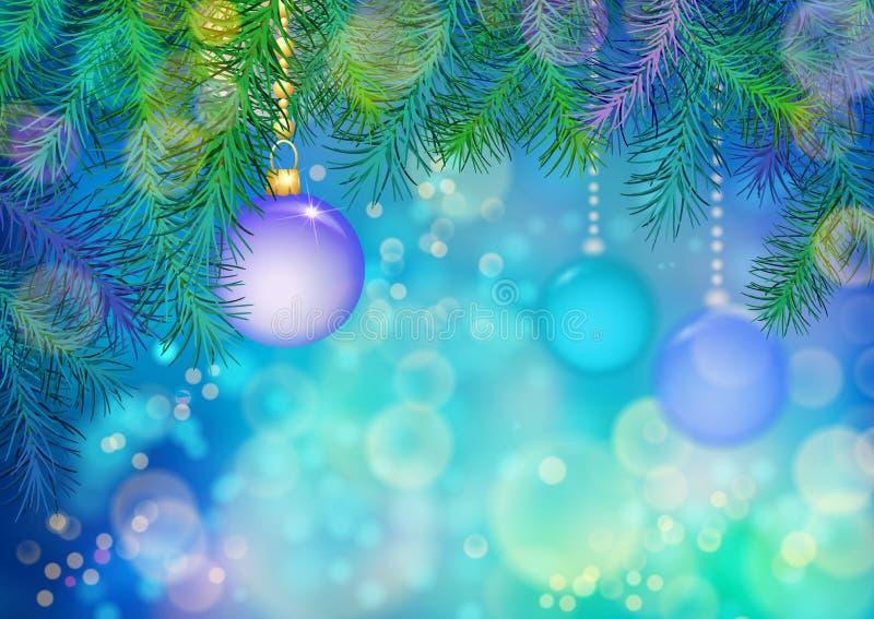 向量圣诞节背景 向量例证