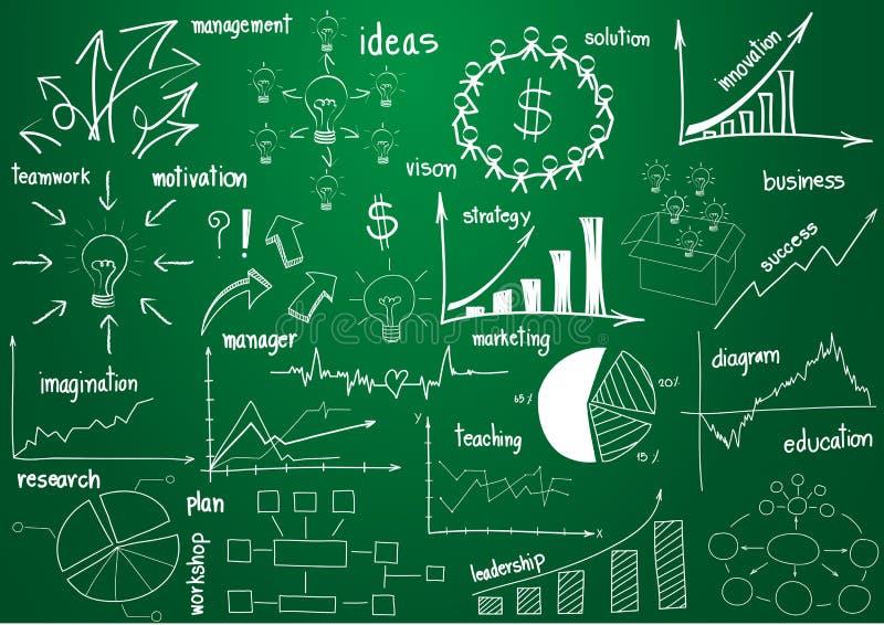 向量infographics要素图象和绘制 库存例证