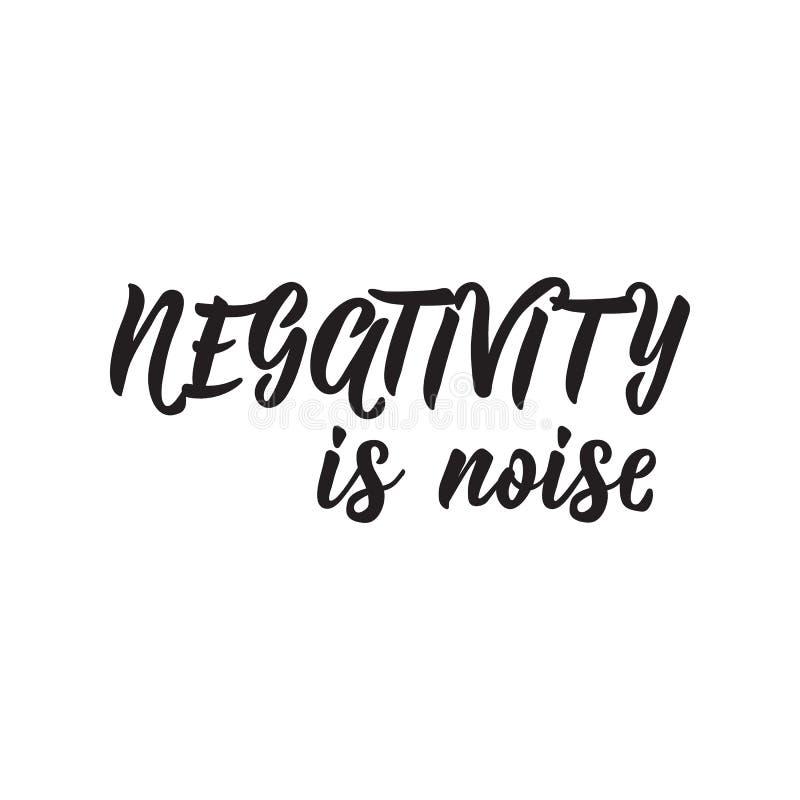 否定性是噪声 r ?? r 向量例证