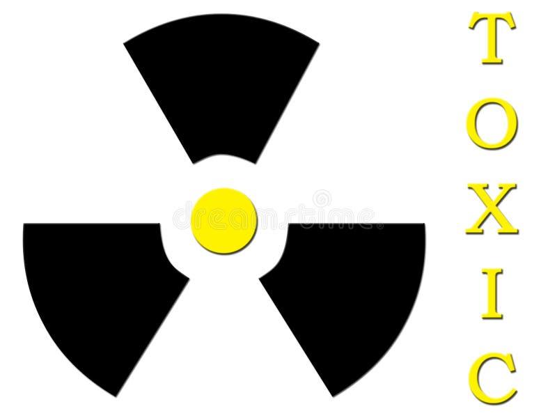 含毒物 向量例证