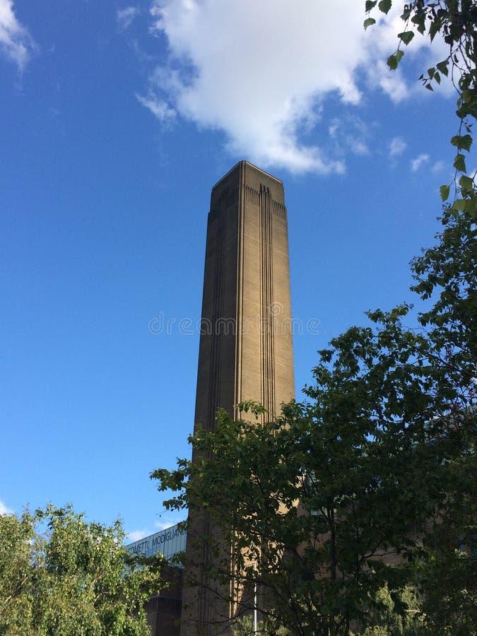 含氧的塔在伦敦 库存照片