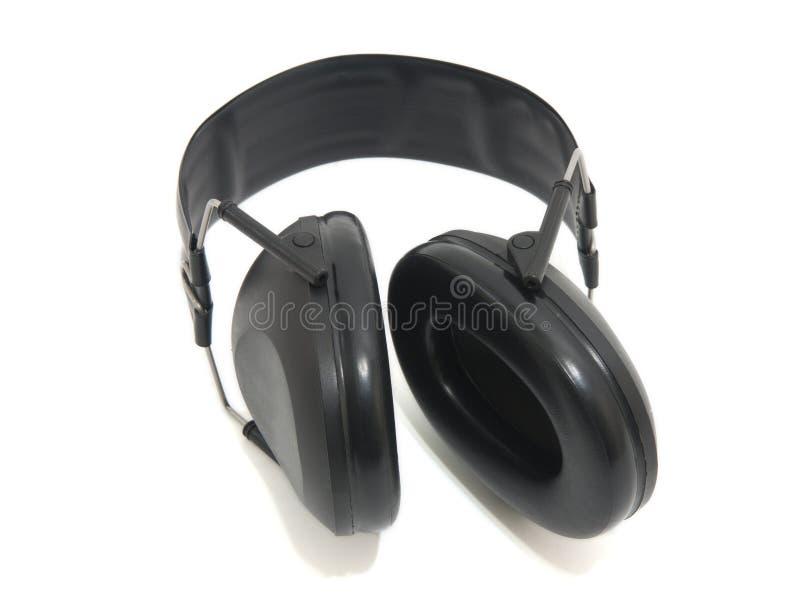 听力保护 免版税库存照片