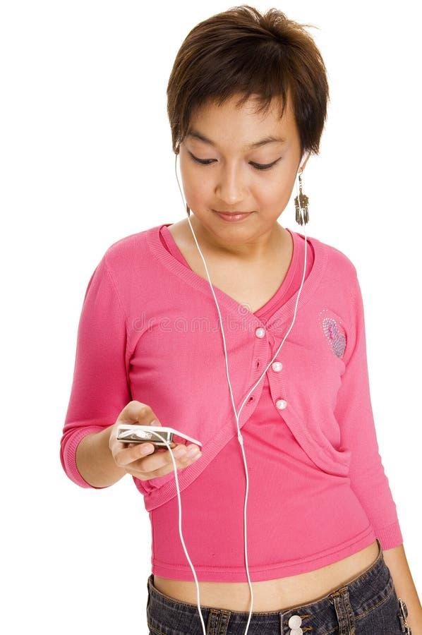 Download 听的音乐 库存照片. 图片 包括有 青少年, brunhilda, 种族, 粉红色, 相当, 分集, 可移植 - 178062