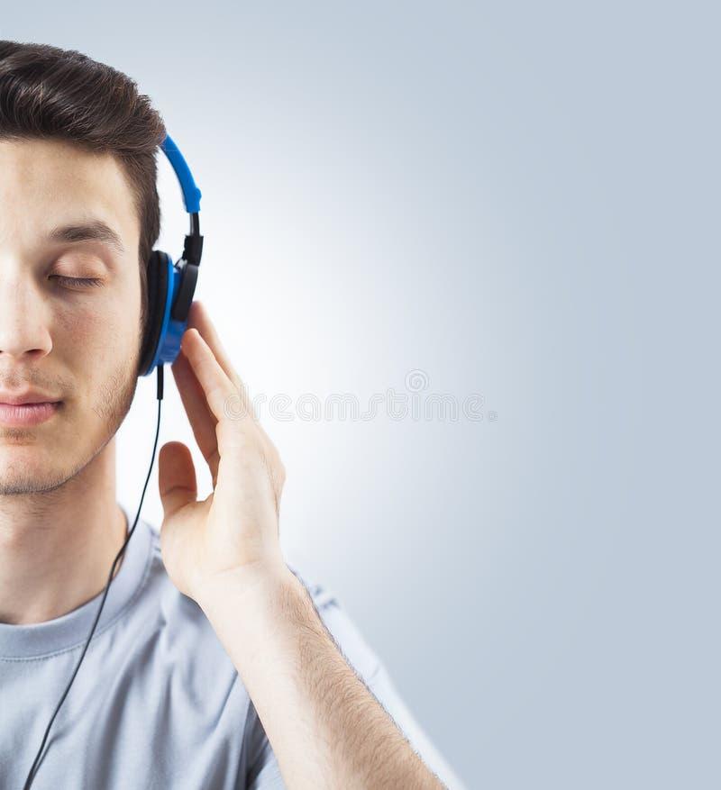 听的音乐 图库摄影
