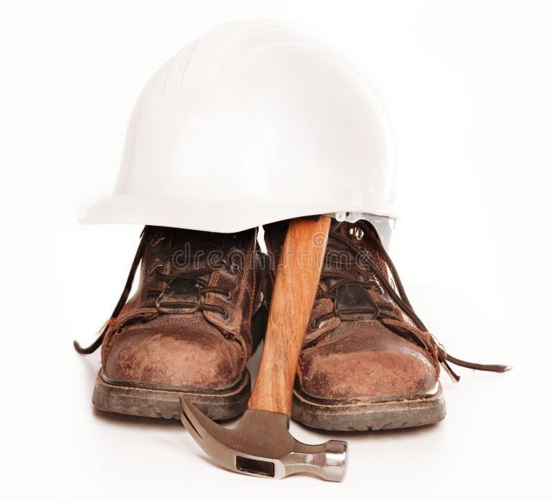 启动安全帽工具 库存图片