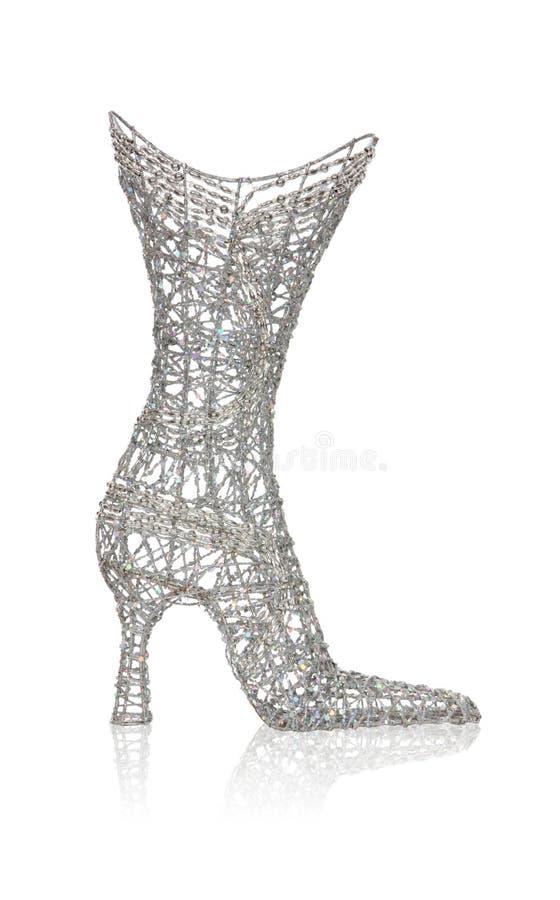 启动鞋子womans 库存照片
