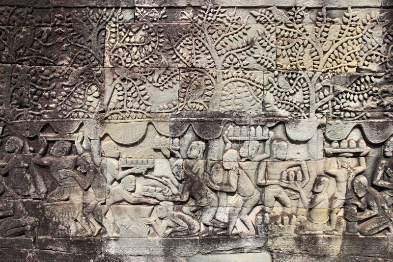 吴哥,柬埔寨 免版税库存照片