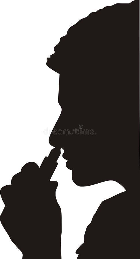 吸入医学鼻子 库存例证