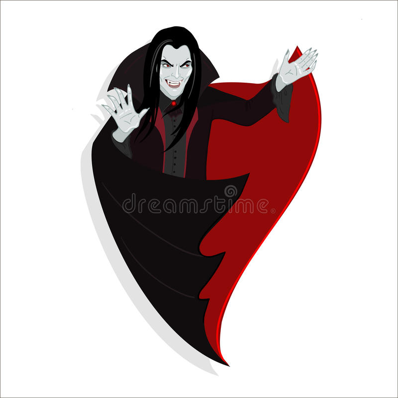吸血鬼 皇族释放例证