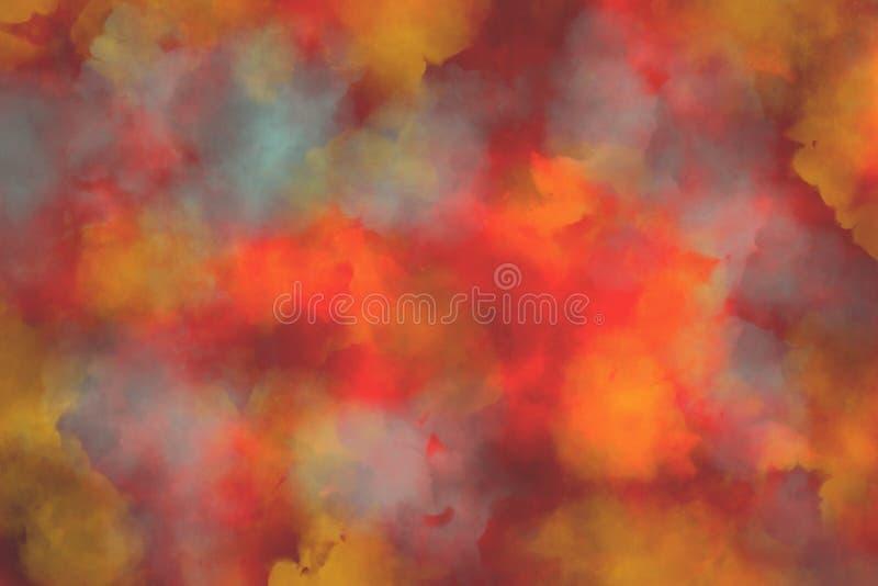 呈杂色的秋天颜色背景纹理 库存图片