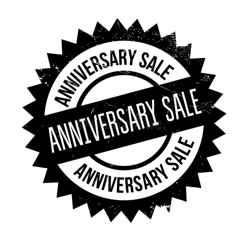 周年销售不加考虑表赞同的人 库存例证
