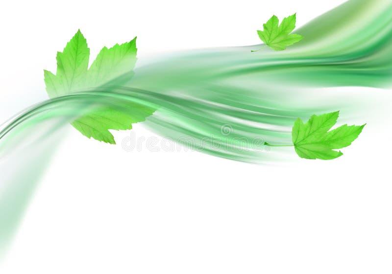 呼吸春天 向量例证