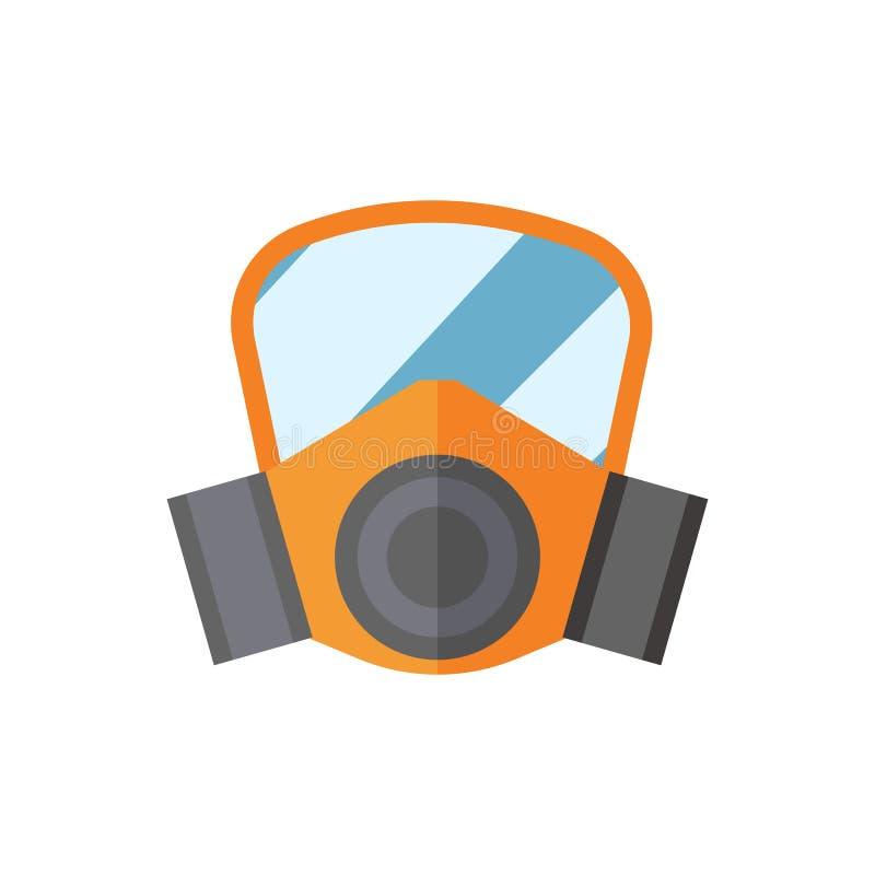 呼吸道防护面具传染媒介例证保护工具人体器官的产业安全 皇族释放例证