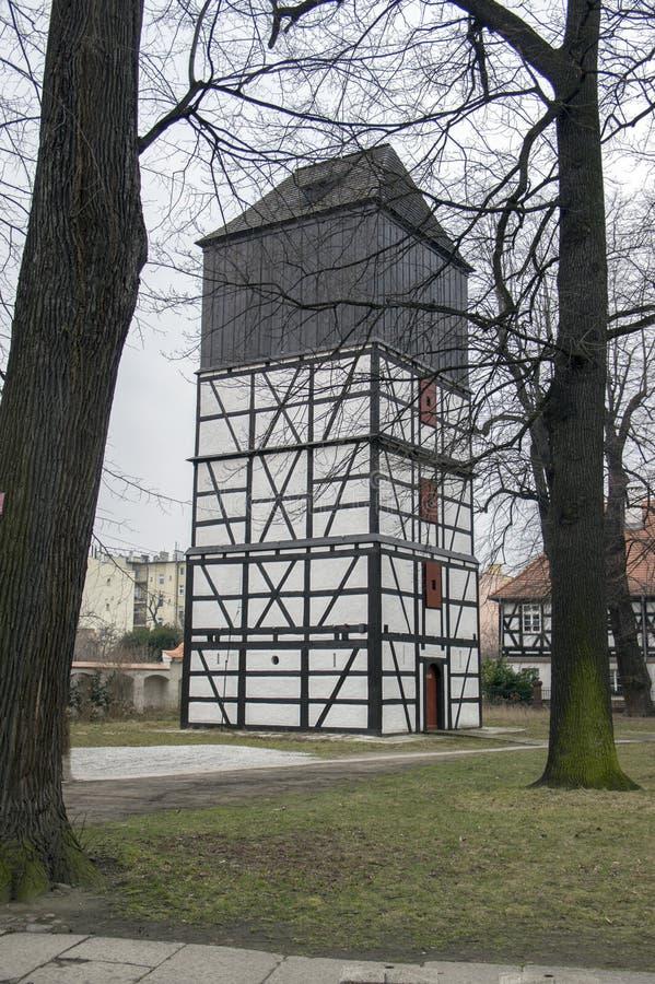 和平木遗产教会在希维德尼察在波兰 免版税库存照片