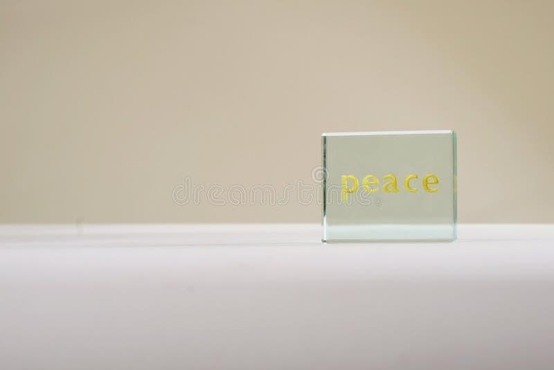 和平标志 图库摄影