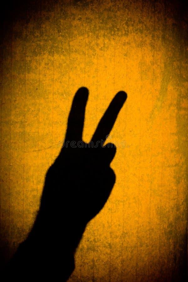 和平标志 库存图片