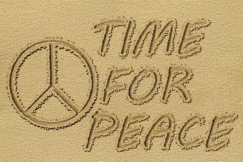 和平标志 向量例证