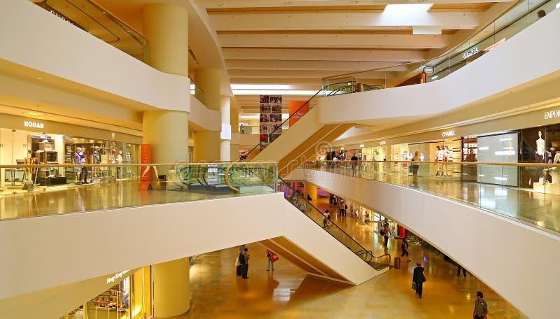 和平的地方商城,香港段落  免版税库存照片
