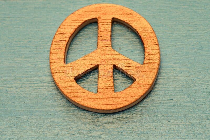 和平的标志 免版税库存图片