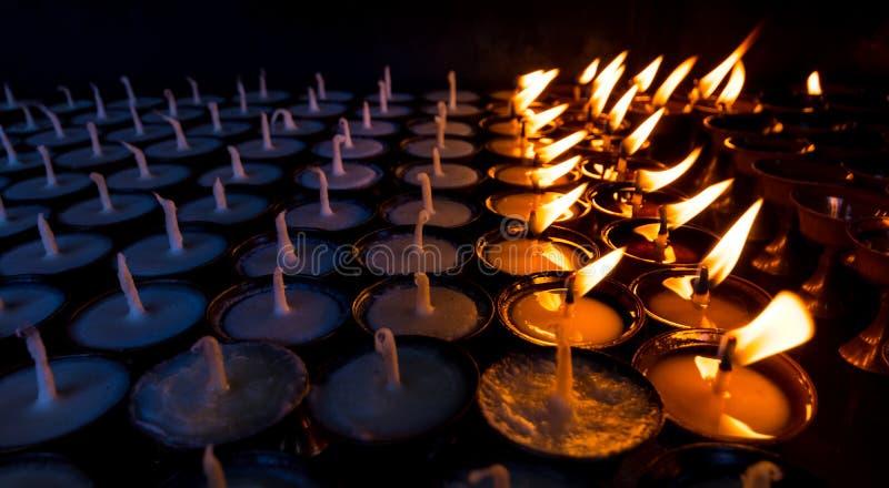 和平祈祷 库存图片