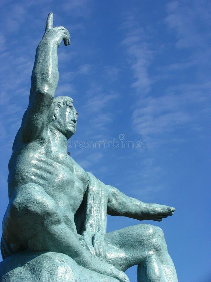 和平雕象 免版税库存照片