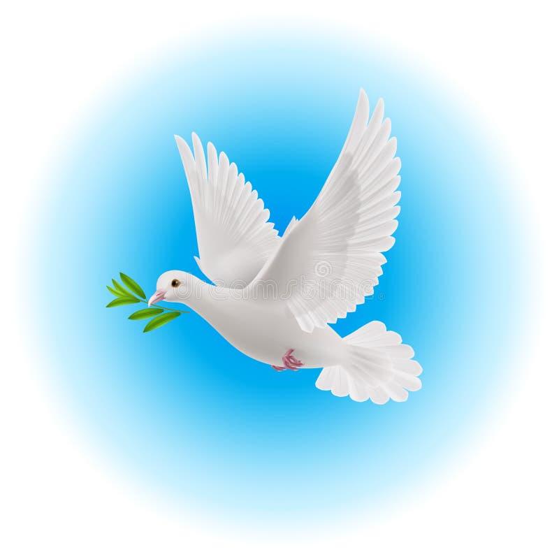 和平鸠 皇族释放例证