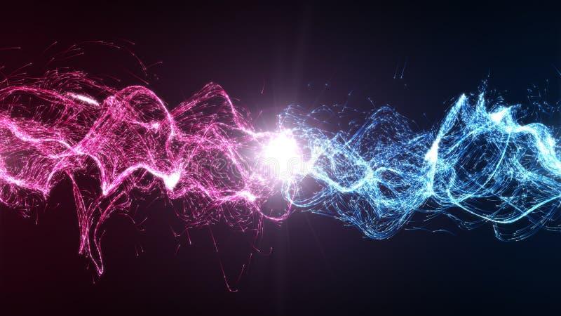 和谐和平衡在能量之间 库存照片