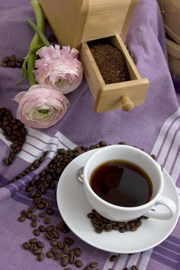 咖啡主题 免版税库存照片