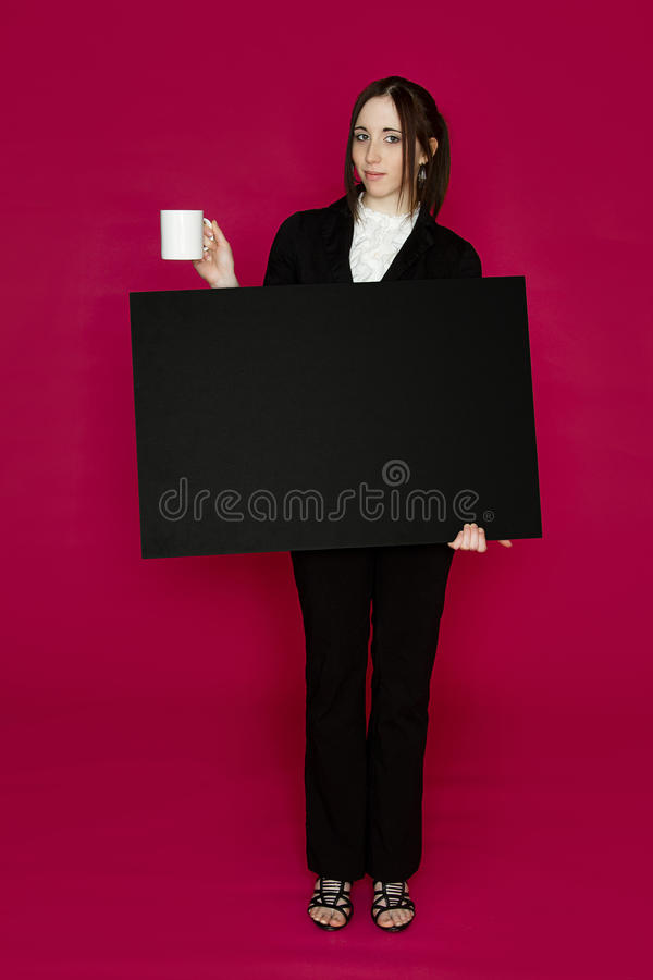 咖啡介绍 库存照片