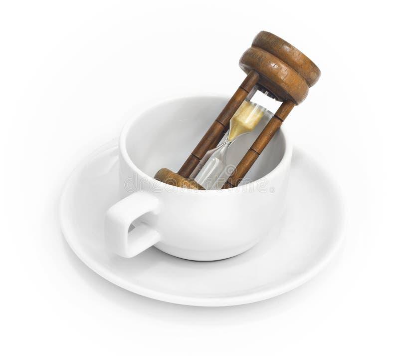咖啡休息 免版税库存图片