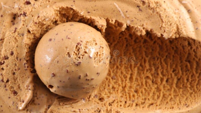 咖啡冰淇凌 库存图片