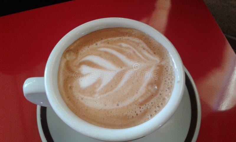 咖啡凹道 免版税库存图片