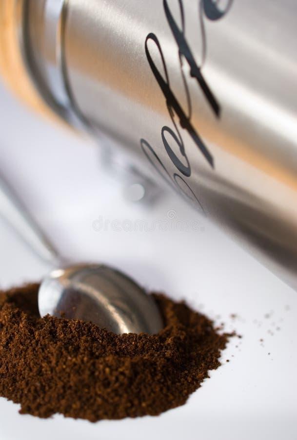 咖啡匙 库存图片