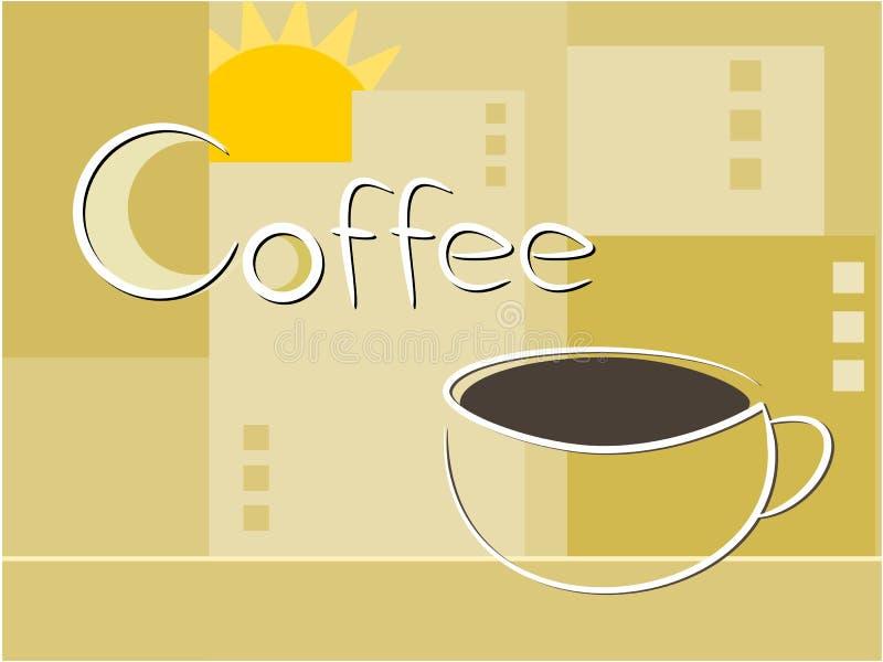 咖啡例证 向量例证