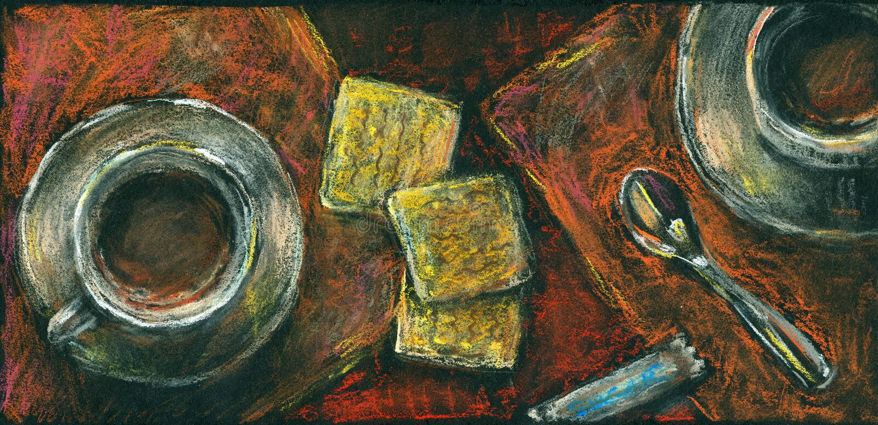 Download 咖啡和曲奇饼。淡色粉笔画。 库存例证. 插画 包括有 杯子, 匙子, 艺术, 咖啡馆, 点心, 咖啡, 食物 - 30338449