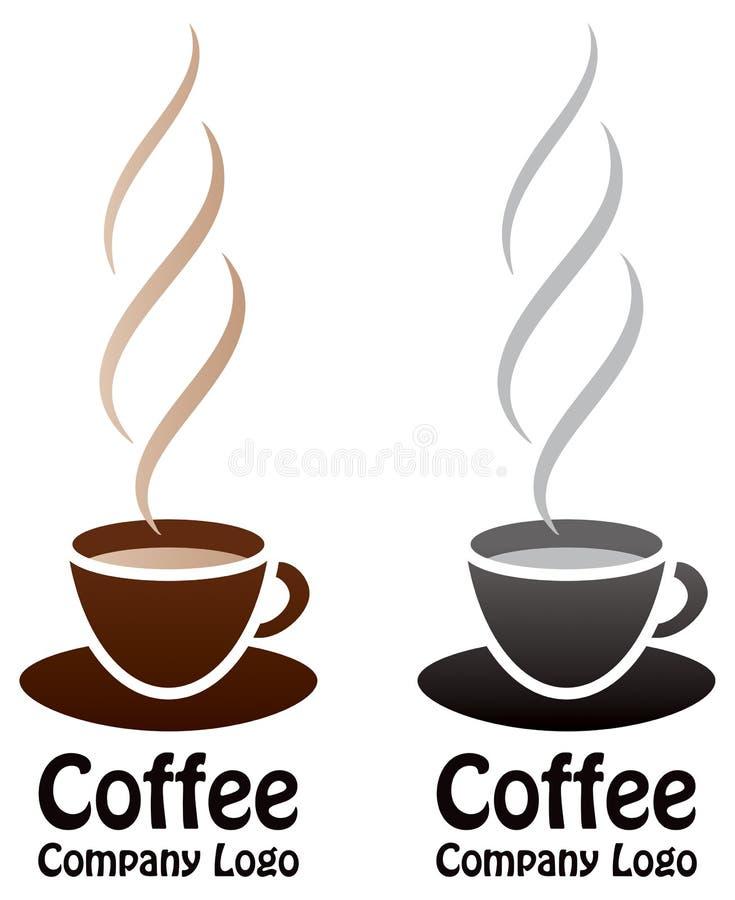 咖啡商标 库存例证