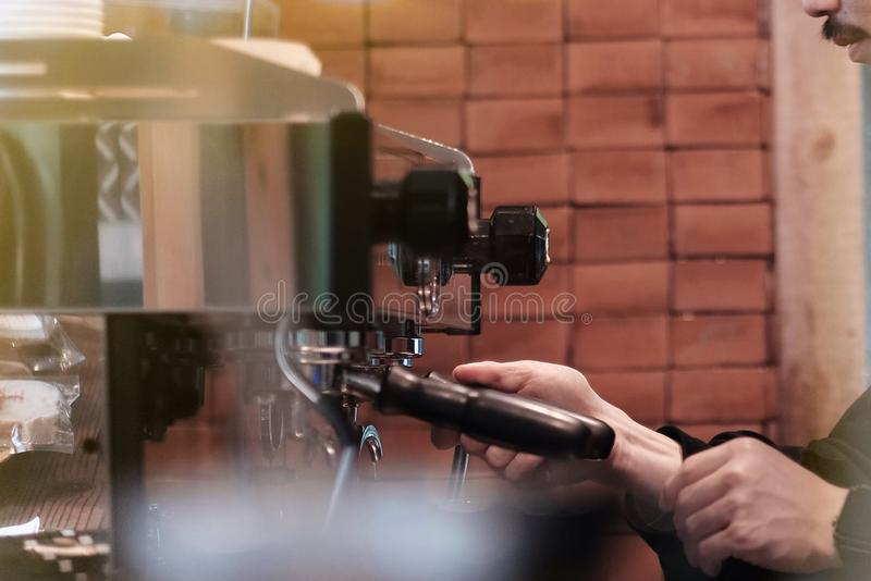 咖啡壶 库存图片