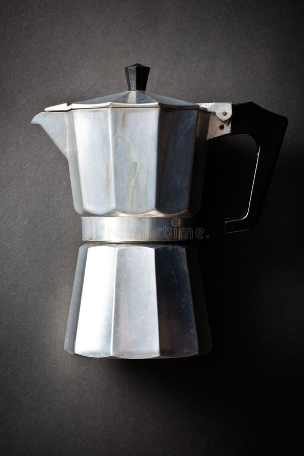 咖啡壶bialetti 免版税库存照片