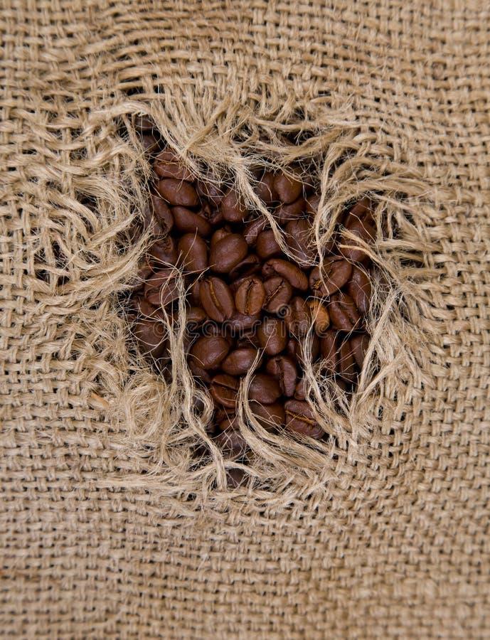 咖啡大袋 免版税图库摄影
