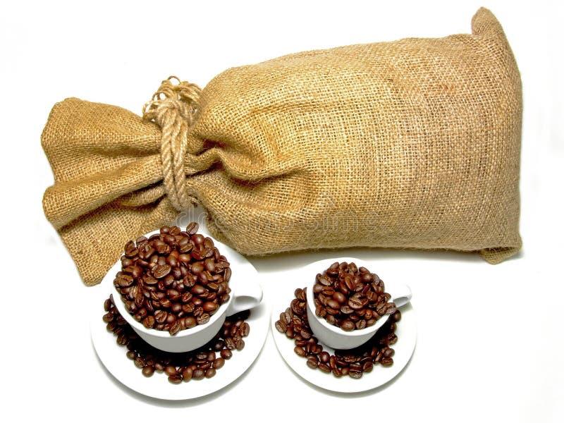 咖啡大袋 免版税库存照片